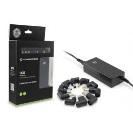 Alimentador Conceptronic Portatil 65W 15V y 19V