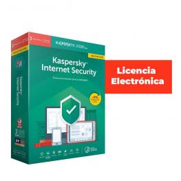 Antivirus Esd Kaspersky 3 Us Int.Sec. Reno Lic Ele