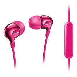 Auricular Philips Con Micro Rosa