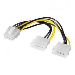 Cable Adaptador Alimentación Pci Express Molex-8Pin