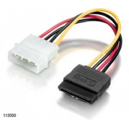 Cable Equip Alimentacion Sata ( Molex A Sata)