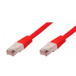 Cable Equip Rj45 Latiguillo F-Utp Cat.5E 1M Rojo