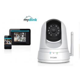 Camara Ip Wifi D-Link Dcs-5000L Dia-Noche Pan