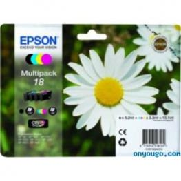 Cartucho Epson 18 Exression Xp102-202..Multipac