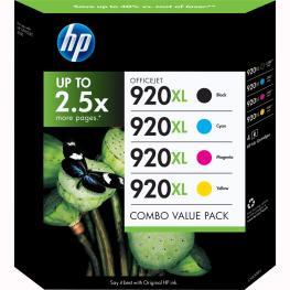 Cartucho Hp 920Xl C2N92Ae Pack Negro-Colores