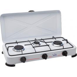 Cocina Gas Jata Cc706 Camping 3 Fuegos