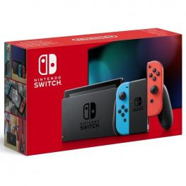 Consola Nintendo Switch Azul Neon - Rojo Neon