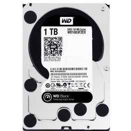 Disco Duro 3.5 Western Digital 1Tb Sata3 7200Rpm Black