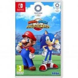 Juego Mario & Sonic Juegos Tokio 2020 Nintendo Swi
