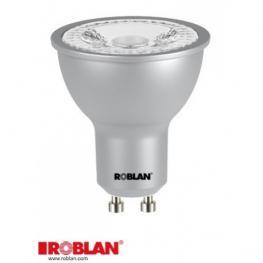 Led Dicroica Roblan Smd-6W-Gu10-600Lm-4100K-Calida