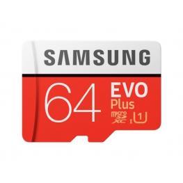 Memoria Micro Sd 64Gb Samsung Evo+ 2020 Clase 10