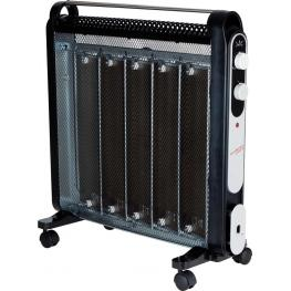 Radiador Micathermic Jata 2000W Negro 5 Placas