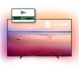 Television 43 Philips 43Pus6704 4K Hdr Smart Am + Eci 20?