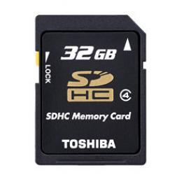 Tarjeta Microsd Hc + Adaptador Toshiba - 32Gb - Clase 4 - 4Mb/s