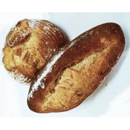 Pan de Trigo Ecológico Molido En Piedra 600Gr Ecológico