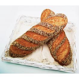 Pan de Espelta Integral Con Semillas de Chía y Quinoa Roja y Blanca 600Gr Ecológico