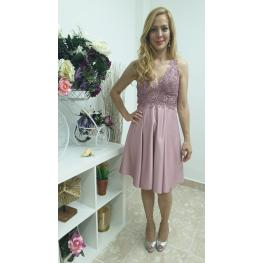 Vestido Armonia Corto Color Rosa