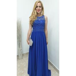 Vestido de Fiesta Largo Jimena Azul