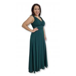 Vestido Largo Zulema Verde Botella
