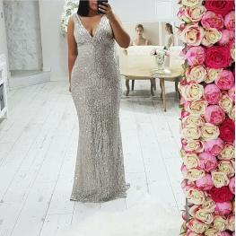 Vestido Ariel Plata