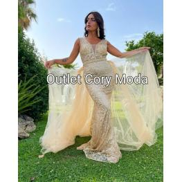 Vestido Sicilia Dorado