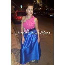 Falda de Fiesta Monica Color Azul