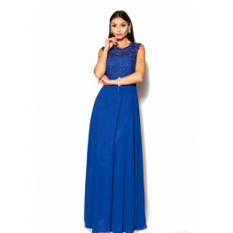 Vestido Fantasia Azul Electrico