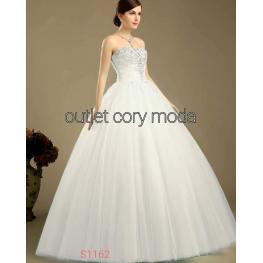 Vestido Cuento Largo Blanco