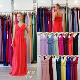 Vestido Largo Donna Blanco