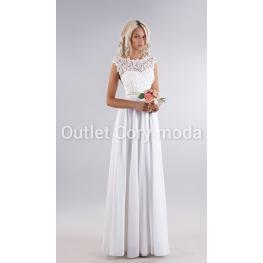 Vestido de Fiesta Fantasia Largo Color Blanco