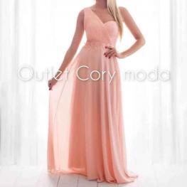 Vestido Largo Ada Color Rosa