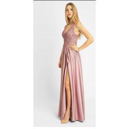 Vestido Largo Armonia Rosa