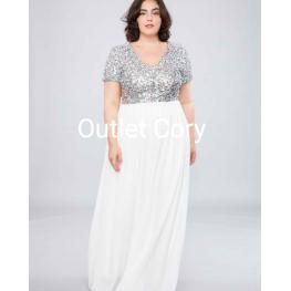 Vestido Austria Largo Blanco