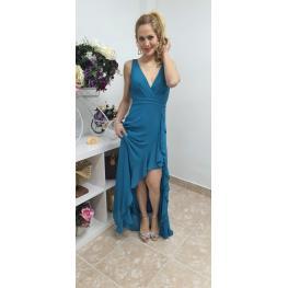 Vestido Bucarest Turquesa
