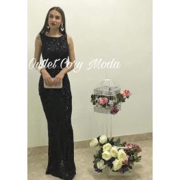 Vestido de Fiesta Camilla Color Negro