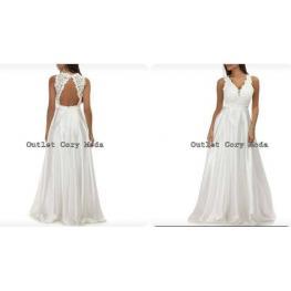 Vestido Cinthia Color Blanco