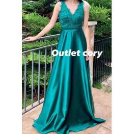 Vestido  Cinthia Verde Aqua