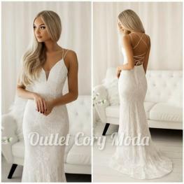 Vestido de Fiesta Dalinda Color Blanco