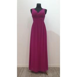 Vestido Largo Donna Color Buganvilla