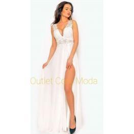 Vestido Largo Gabriela Color Blanco