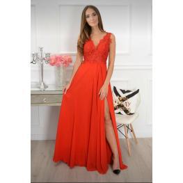 Vestido Largo Gabriela Color Rojo