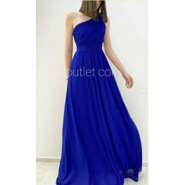 Vestido  Griego Azul Electrico