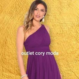 Vestido Corto Griego Color Buganvilla