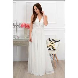 Vestido de Fiesta Mallorca Color Blanco