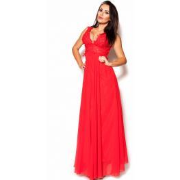 Vestido de Fiesta Mallorca Color Rojo