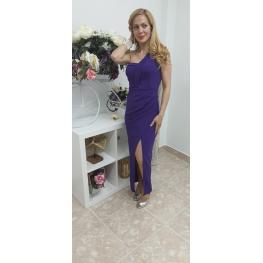 Vestido de Fiesta  Largo Noa Color Morado