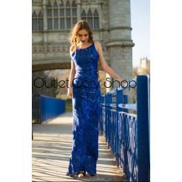 Vestido de Fiesta Oceano Color Azul