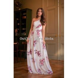 Vestido  Orquidea Color Blanco