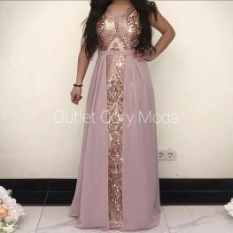 Vestido de Fiesta  Rosalia Color Rosa