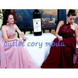 Vestido Largo Virginia Color Rosa
